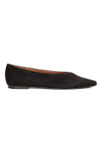 Pointed flats - Black - Ladies | H&M CN 1